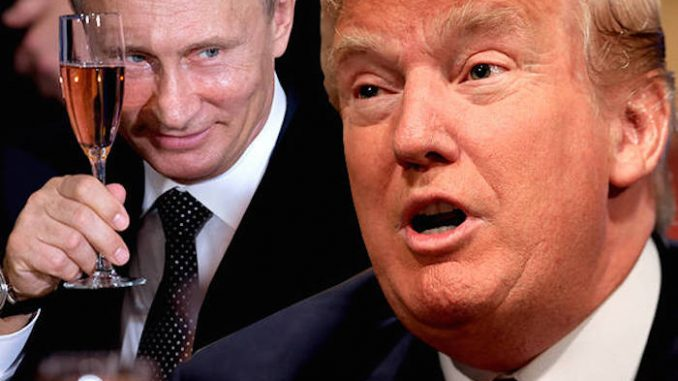 Vladimir Putin endorses Donald Trump saying he hopes the GOP front-runner becomes President and deals with the Saudi Arabia problem appropriately