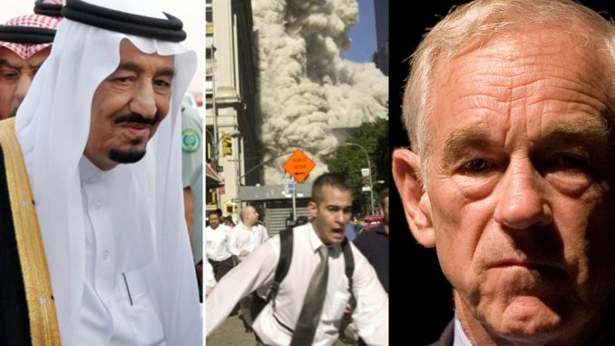 Ron Paul says the U.S. needs to recalibrate its relationship with Saudi Arabia following revelations that they may have been involved in orchestrating the 9/11 attacks
