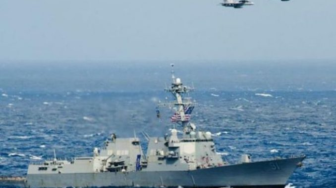 Russian Su-24 jets simulate attack on US warship