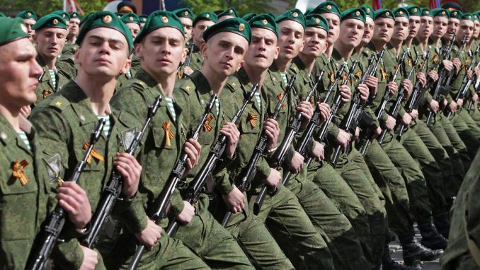 Russia deploy 50,000 troops to Europe border