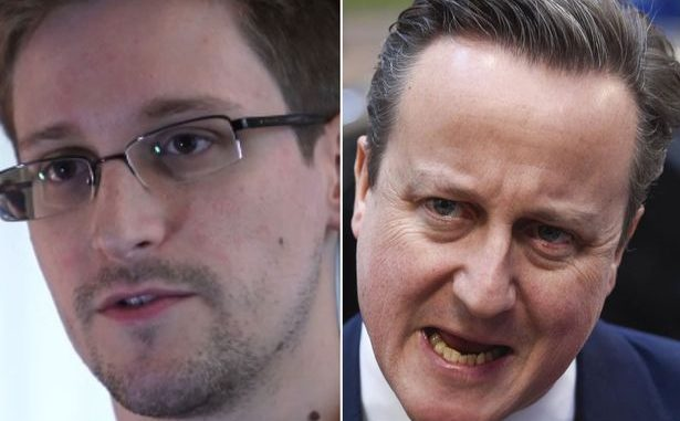 Edward Snowden Calls On UK To Demand David Cameron's Resignation