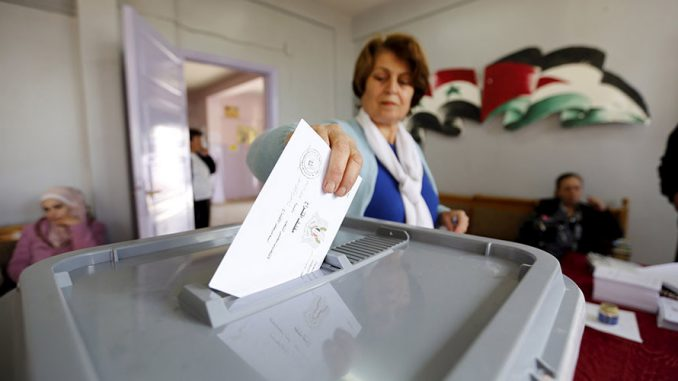 Syrian Elections For Parliament Denounced By Assad's Enemies