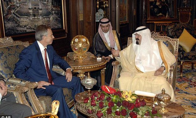 Tony Blair Lobbied Chinese Government For Saudi Oil Company