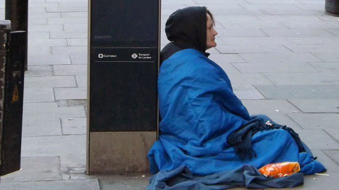 Women Issued Tents Instead Of Accommodation When Released From Prison