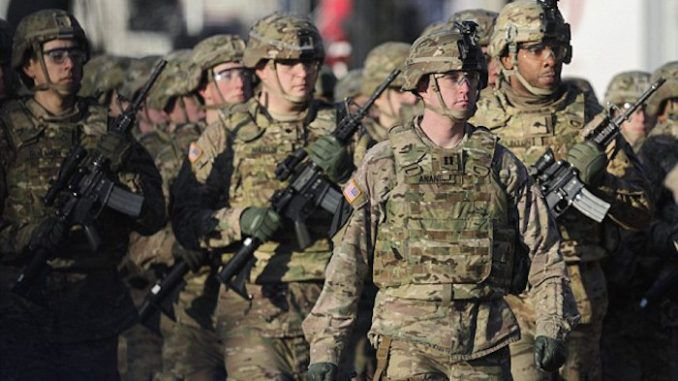 Thousands of US troops deployed to Russia's border