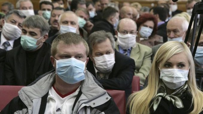 Mysterious virus hits Ukraine, hospitalising 200 and leaving 20 dead