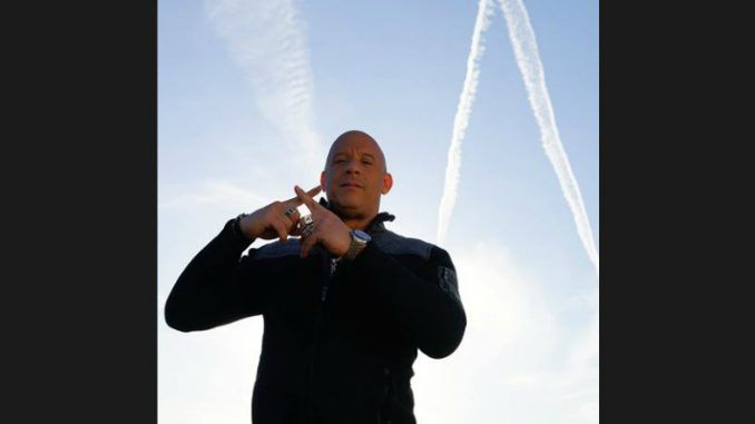 Vin Diesel exposes chemtrails conspiracy on his Facebook page
