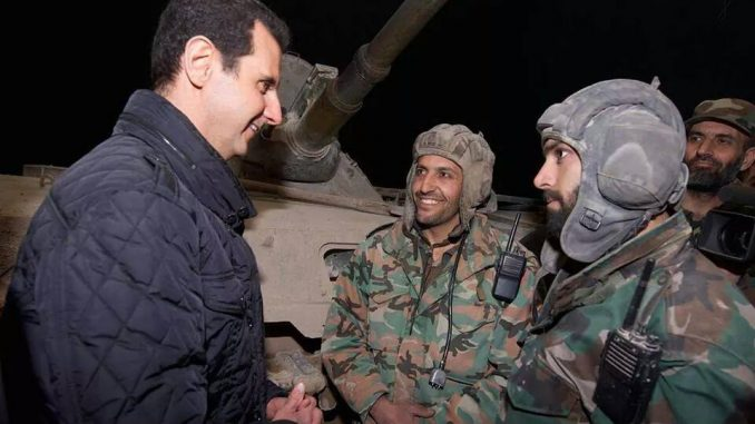 Assad says Syria is on the verge of defeating ISIS without the assistance of the West