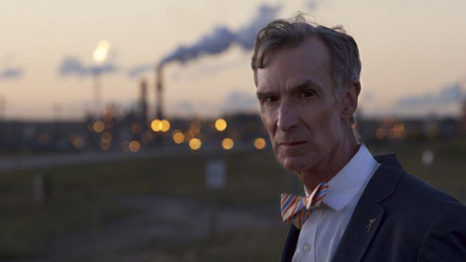 Bill Nye 'The Science Guy' says that all climate change deniers should go straight to jail