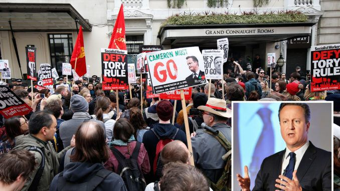 Thousands Expected For Anti Austerity Demonstration In London