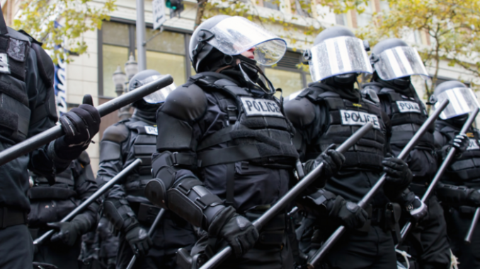 Cleveland police department spend $20 million dollars on riot gear
