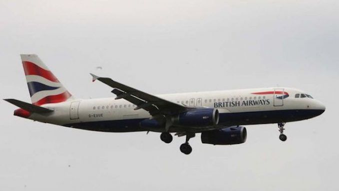 Drone crashes into BA passenger jet at Heathrow airport in London