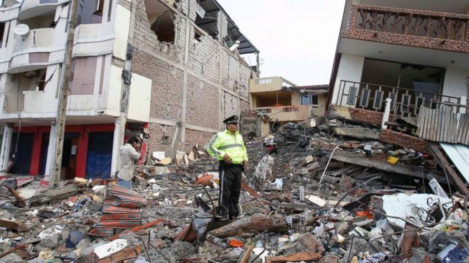 Ecuador Earthquake: State Of Emergency Declared, At Least 238 Killed