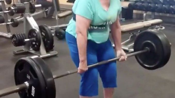 Grandmother who was chair-bound can now deadlift 225 lb weights