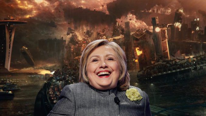 New Independence Day: Ressurgence movie reveals Hillary Clinton's plans as next U.S. president