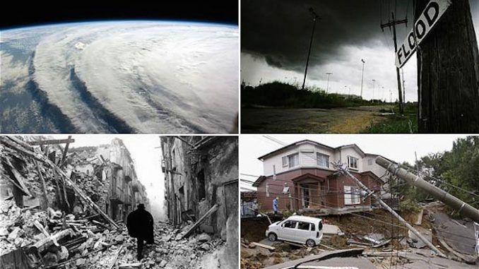 UN says there will be an increase in natural disasters around the world, which will likely be 'catastrophic' in nature