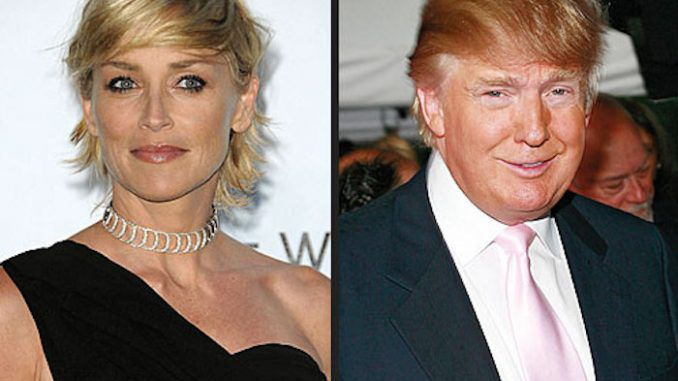 Actress Sharon Stone has warned that a Donald Trump presidency could lead to 'another holocaust' in a recent interview