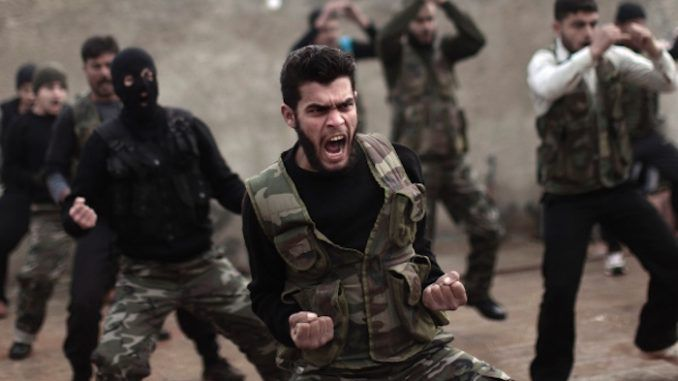 The US and Turkish governments have said they will arm terrorists in Syria, including ISIS, in order to help in the efforts of ousting Assad