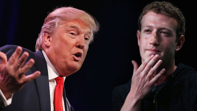Facebook employees debate whether to sabotage Donald Trump's attempts to become president