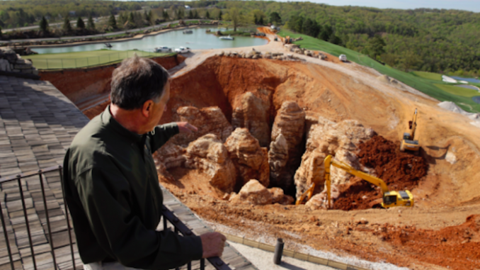 Billionaire discovers cave system underneath his golf course