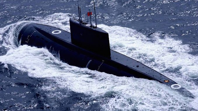 China sends nuclear submarines to Pacific Ocean