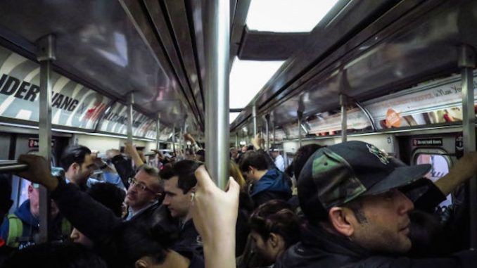 DHS perform 'bioterrorism drill' in NYC subway, releasing 'harmless gas' on the public