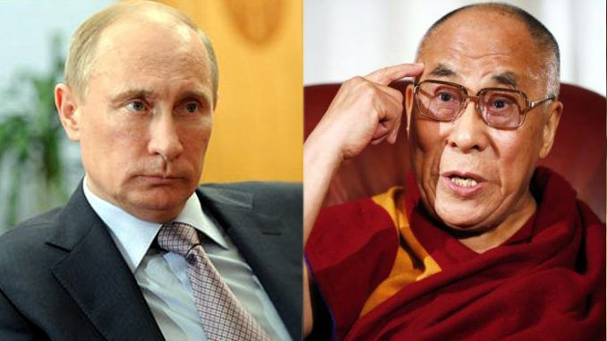 The Dalai Lama has said he agrees with Putin's assertion that ISIS were created by the U.S. government