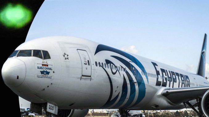 EgyptAir 804 pilot claims to have seen a UFO flying next to the aircraft an hour before the crash