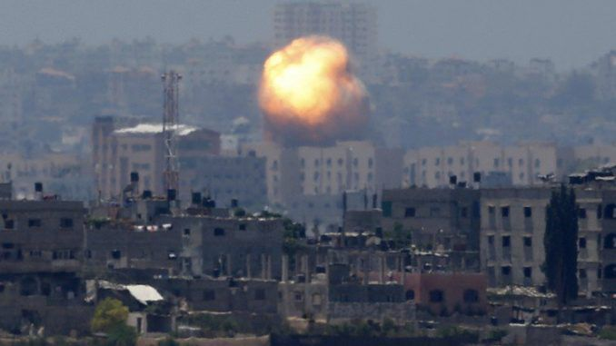 Gaza declared military zone