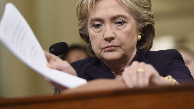 Hillary Clinton To Be Indicted On Federal Racketeering Charges, Cover-up Underway