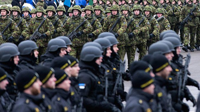 NATO sends troops to Russian border in largest ever military build-up since World War 2