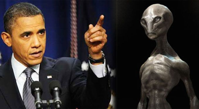 President Obama has vowed to disclose the truth about aliens visiting the Earth, before he leaves the White House