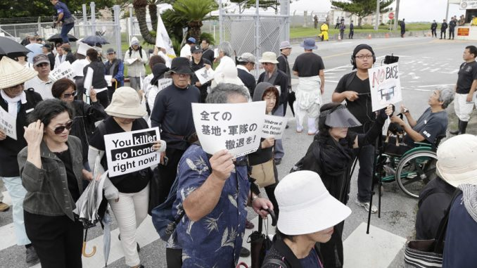 US military restricts troops in Okinawa after murder and rape of Japanese women