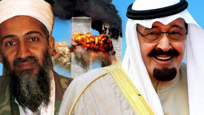 Saudi Arabia accuse U.S. government of orchestrating the 9/11 attacks in order to create 'fake war on terror'
