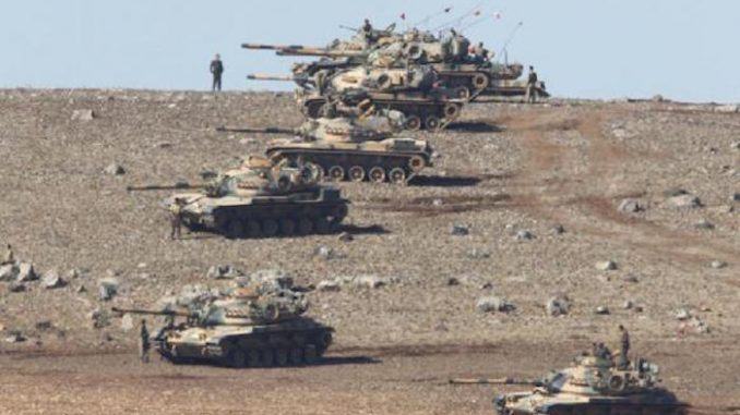 Turkey cross the border into Syria, prompting fears of a Russia-Turkey war