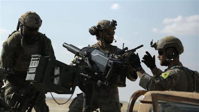 US military fighters caught on ISIS frontline in Syria
