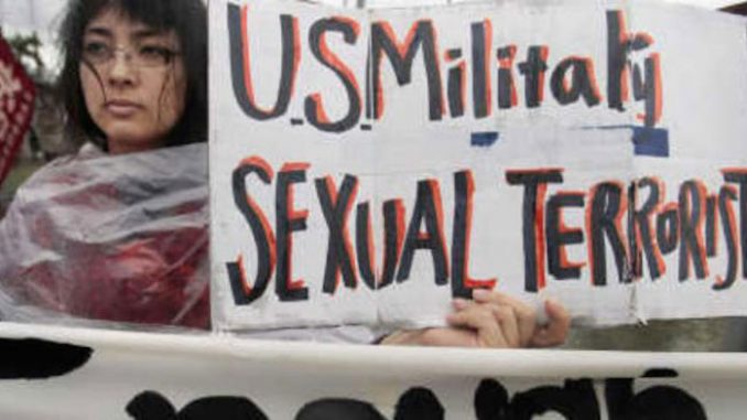 Japan demand that the U.S. military stop allowing military-related deaths and rapes to occur in Japan