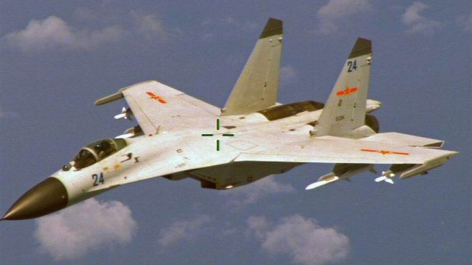 Chinese Fighter Jets Intercept US Military Spy Plane over S. China Sea