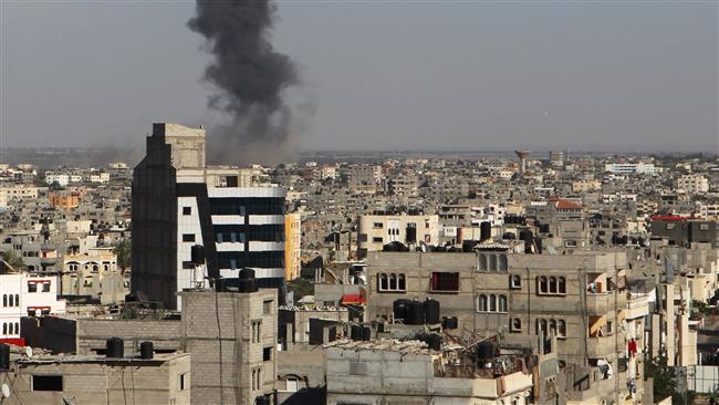 Israeli Warplanes Bomb Gaza Strip