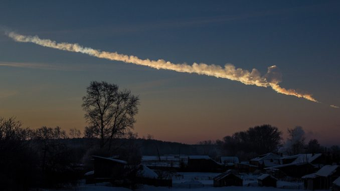 Russia say that the supposed meteor in Chelyabinsk was actually a new type of U.S. weapon