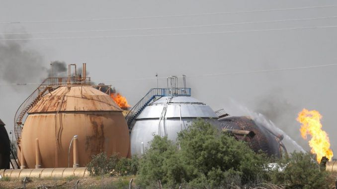 ISIS Suicide Bombers Target Natural Gas Plant In Iraq