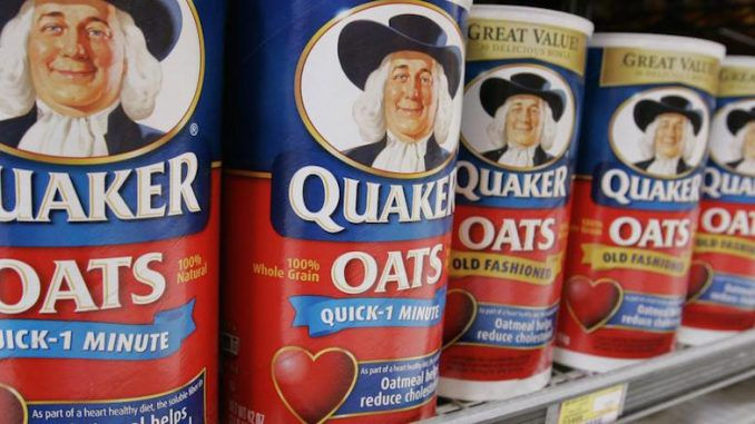 Quaker Oats sued for including Glyphosate in their products