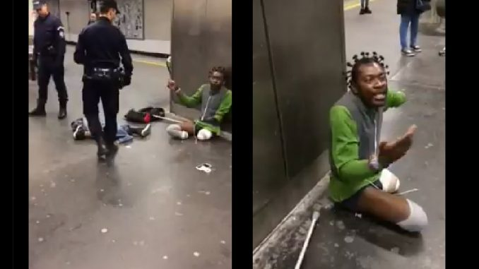 Outrage In France Over Police Brutality Of Triple-Amputee
