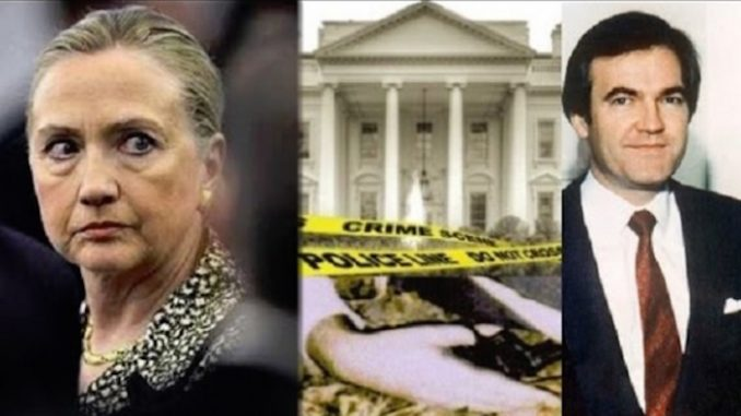 Donald Trump says that the Clintons are responsible for the suicide of Vince Foster