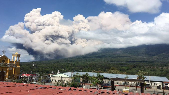 Guatemala's Volcano Of Fire Erupts