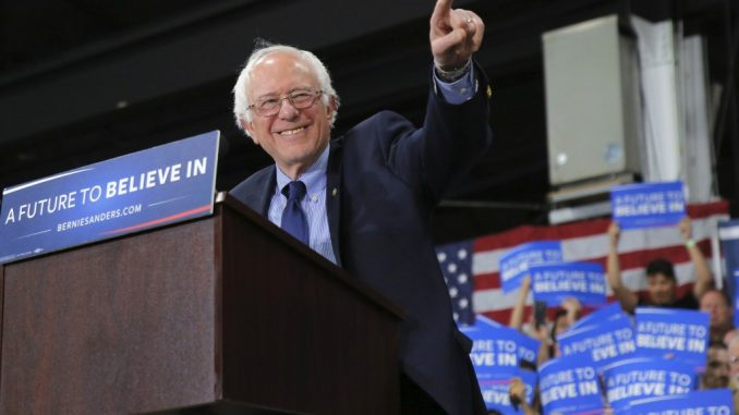 'Stay in the race!' That's the advice four-time presidential candidate Ralph Nader has for Democratic candidate Bernie Sanders.