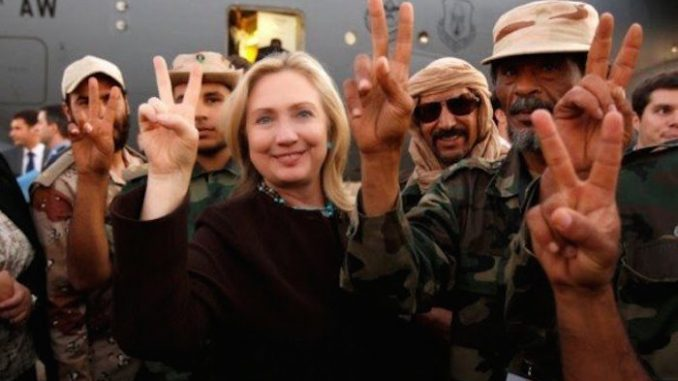 Hillary Clinton admits that ISIS is a U.S. government creation