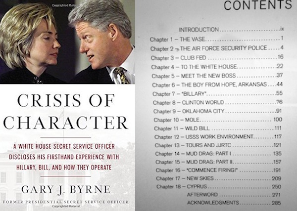 Crisis of Character book threatens to spill the beans on Hillary Clinton