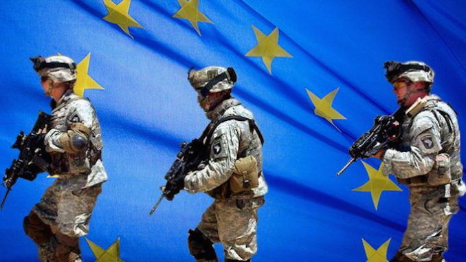 EU army is given the go-ahead by European leaders