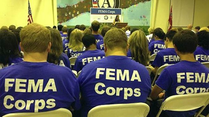 FEMA activate civilian corps, indicating that something big is about to occur